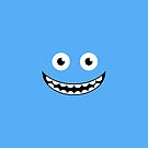 Blue Smile by Mark Walker