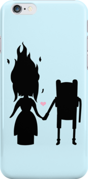 Finn and Flame (Ipod) by alightedsylph