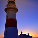 Sundown at the Lighthouse by gmws