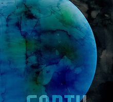 The Planet Earth by ArtPrints