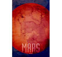 The Planet Mars Photographic Print