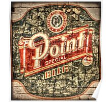Point Special Beer Poster
