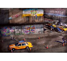 City - New York - Greenwich Village - Life's color Photographic Print