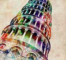 Leaning Tower of Pisa by ArtPrints