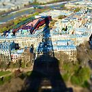 Eiffel Tower Paris France by tttechnicolors