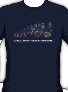 Evolution of the Platform Game T-Shirt