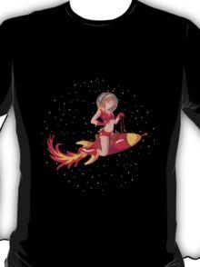 Red Rocket Pin-Up T-Shirt