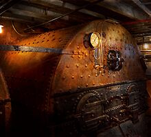 Steampunk - Plumbing - The home of a stoker  by Mike  Savad