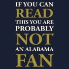 If You Can Read This... (Notre Dame vs. Alabama - BCS Championship) by theITfactor