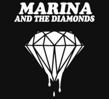 Marina and the Diamonds (White font) by idkjenna