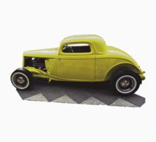 '32 Coupe Yellow by Alastair Creswell