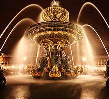 Place de la Concorde by Steven Powell