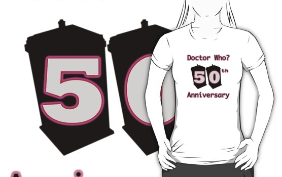 50th Anniversary Pink by drwhobubble