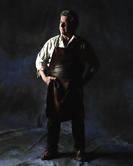 Portrait of a Master Blacksmith by Nick Sage