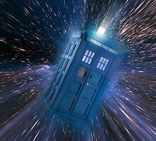 Doctor Who Tardis by gleviosa
