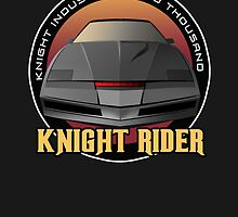 Knight Rider Logo KITT Car by Creative Spectator