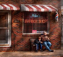 Barber - Metuchen, NJ - Waiting for Mike by Mike  Savad