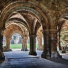 Kirkstall Abbey Chapter House (HDR) by Tim Waters