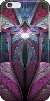 Satin Flame for iphone & ipad by Anne Pearson