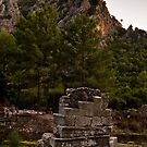Ruins at Olympos by David Isaacson
