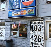 Gas Station, Congers, New York by Frank Romeo