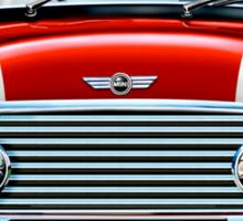 Mini Cooper S in Red Sticker