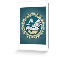 Blue Shell Academy Greeting Card