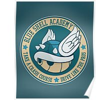 Blue Shell Academy Poster