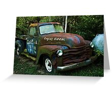 52 or 53 Chevy PU Greeting Card