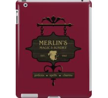 Camelot's One Stop Magic Shoppe iPad Case/Skin