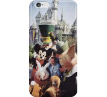 Disney and his character iPhone Case/Skin