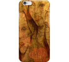 The Three Flowers iPhone Case/Skin