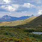 Wyoming Landscape by Harry Oldmeadow
