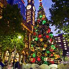 Martin Place at Christmas 2 by Jennifer Bailey