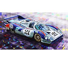 Porsche 917 LH Larrousse Elford 24 Le Mans 1971 Photographic Print