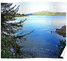 A Cove On The Fanad Peninsula Poster
