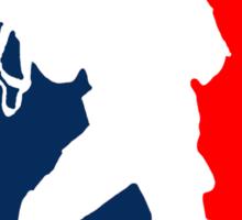 Major League Soldier! Sticker