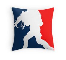 Major League Soldier! Throw Pillow