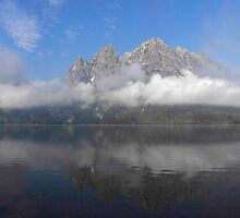 Jenny Lake Reflection by Randy Giesbrecht