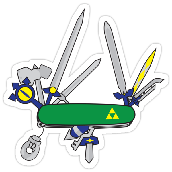 Hylian Army Knife by donutplains