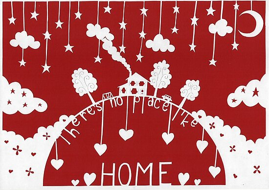 There's no place like home - red by MrsTreefrog