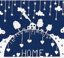 There's no place like home - evening blue by MrsTreefrog