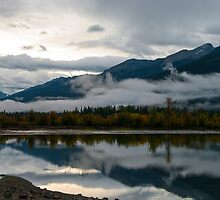 Morning at Moose lake by Ian Fegent