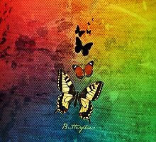 Butterflies - iPhone and iPod skin by Scott Mitchell