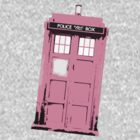 Worn Pink Tardis by drwhobubble