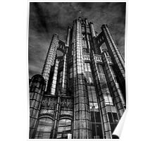 Manchester Unity Building B&W Poster