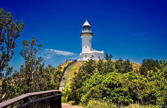Cape Byron Lighthouse by JimMcleod