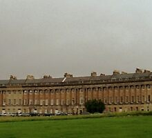 The Royal Crescent in Bath by Laura and Mark Woodward