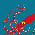 Giant Squid 2 by Mark Walker