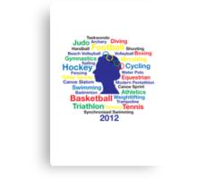 Queen Elizabeth London 2012 T-shirt Canvas Print